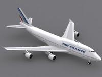 B 747-400 Air France