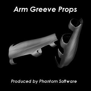 arm greeves obj