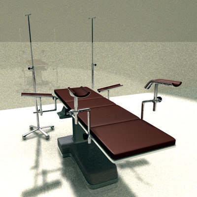 3d model operating table