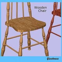 3ds max kitchen chair