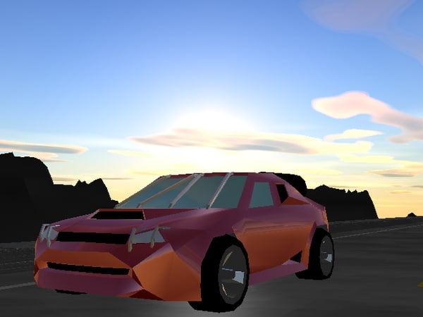 vehicle racer 3d lwo