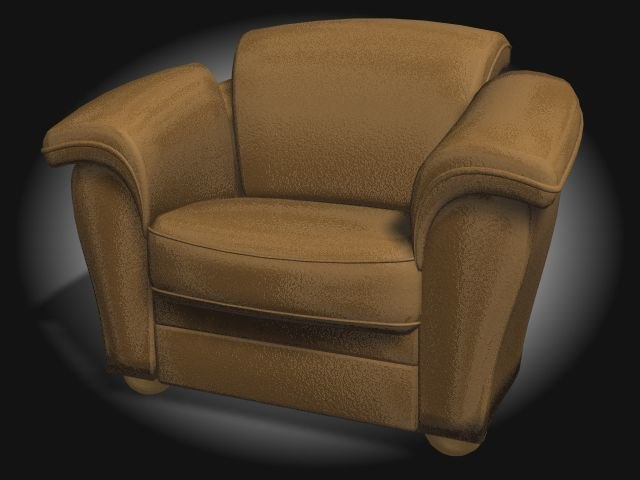 3d model chair furniture couch