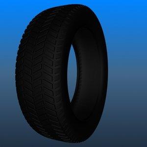3d resolution tire treads