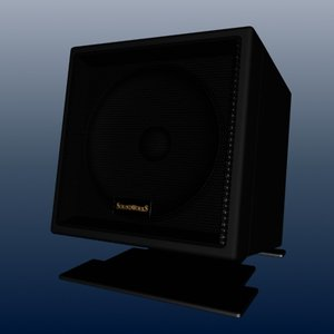 soundworks speaker creative 3d max