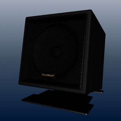 soundworks speaker creative 3d max