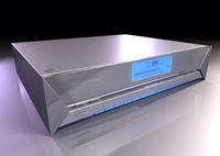 dvd player studiotools 3d model