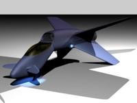 c4d concept jet