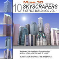 Skyscrapers Collection, Vol. 1