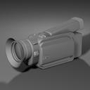 camcorder camera 3d model