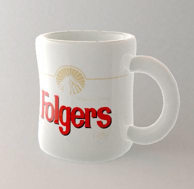 diner coffee mug 3d lwo