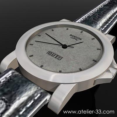 3d model boccia watch