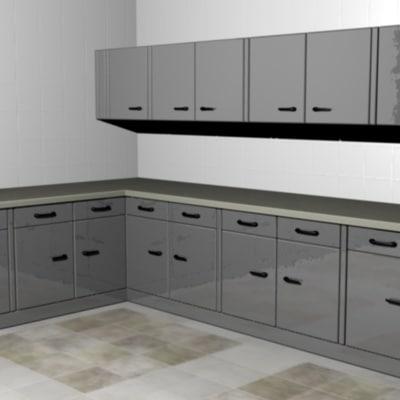 cinema4d modular cupboards