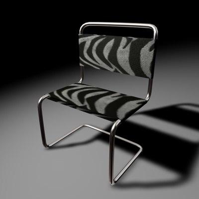chair furniture 3d c4d