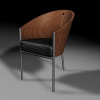 philippe starck chair c4d