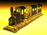 3d engine train