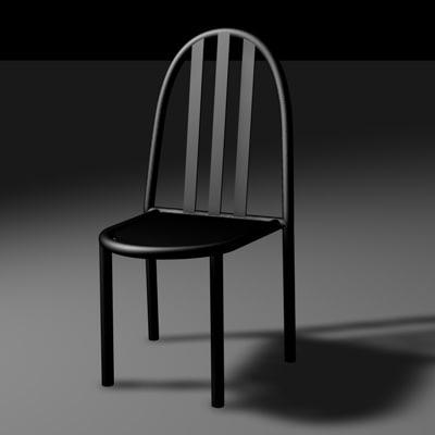 3dsmax mallet stevens chair