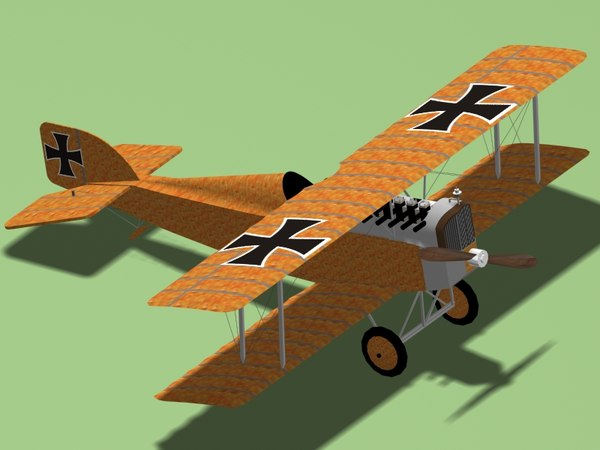 3d austrian aviatik d-1 fighter