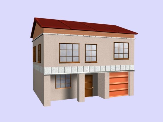 maya house building