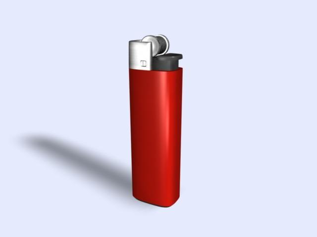 3d model of lighter