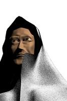 maya monk priest man