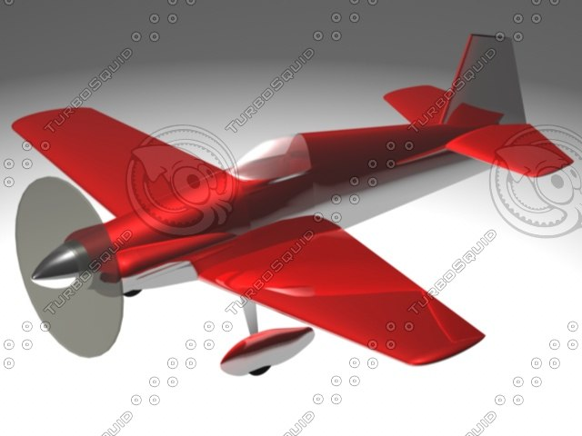 3ds max homebuilt mustang plane