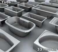 tubs 3d model