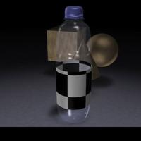 bottle c4d