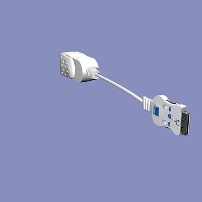 3d laptop pigtail model