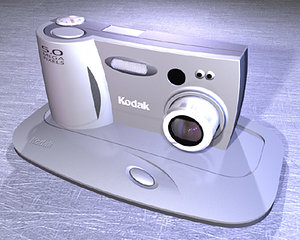 kodak digital camera studiotools 3d model