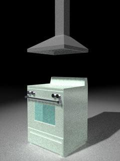 cinema4d kitchen stove
