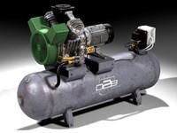 c4d industrial compressor