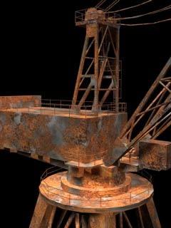 crane quay-crane 3d model