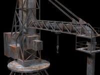 quay-crane 3d model