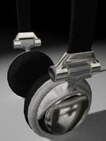 3d c4d earphones
