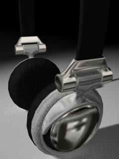 3d c4d earphones