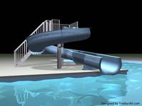 pool water 3d lwo