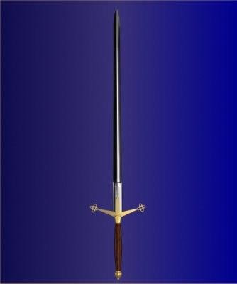 3d model claymore sword