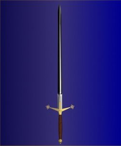 3d sword claymore scottish