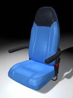 flight passenger seat c4d
