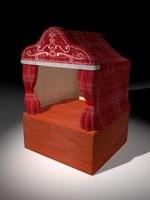 3d puppet theatre model