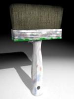 whitewash brush 3d model