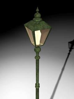 cinema4d street-lamp