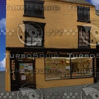 free butchers shop 3d model
