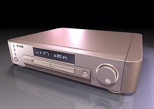 3d dvd cd player versions model