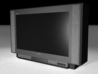 tv color 3d model