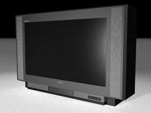 tv color 3d model