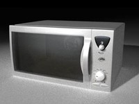 microwave oven c4d