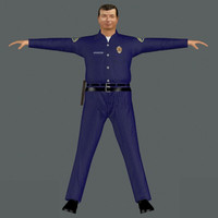 3d character male man