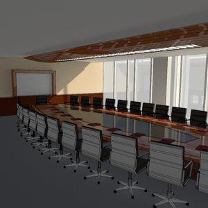 lightwave boardroom radiosity