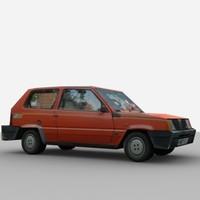 car polys 3d model